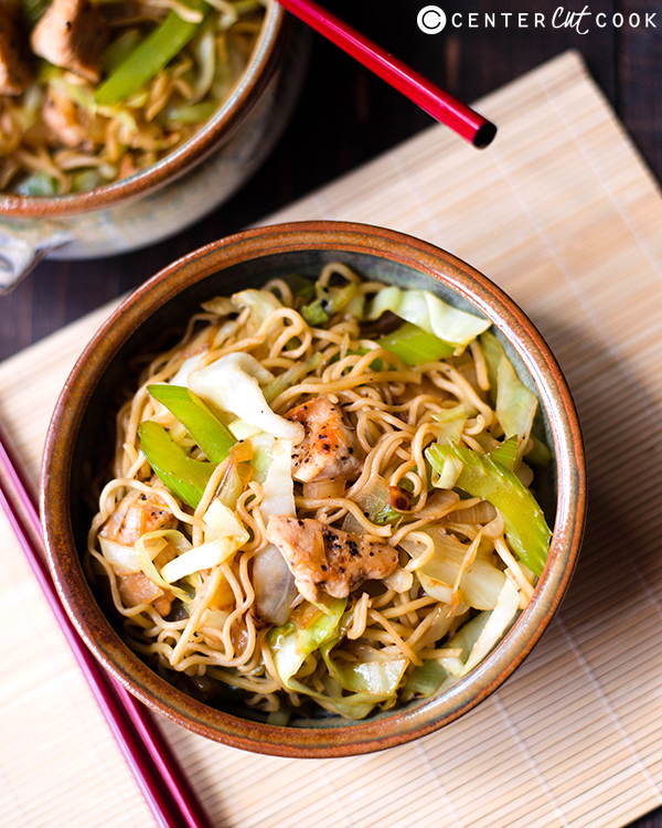 25 minute chicken chow mein 3