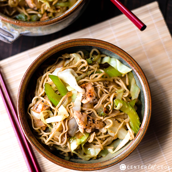 25 minute chicken chow mein 4