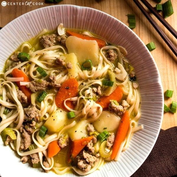 asian chicken noodle soup 4