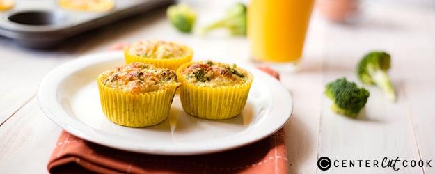 broccoli quinoa egg muffins 1