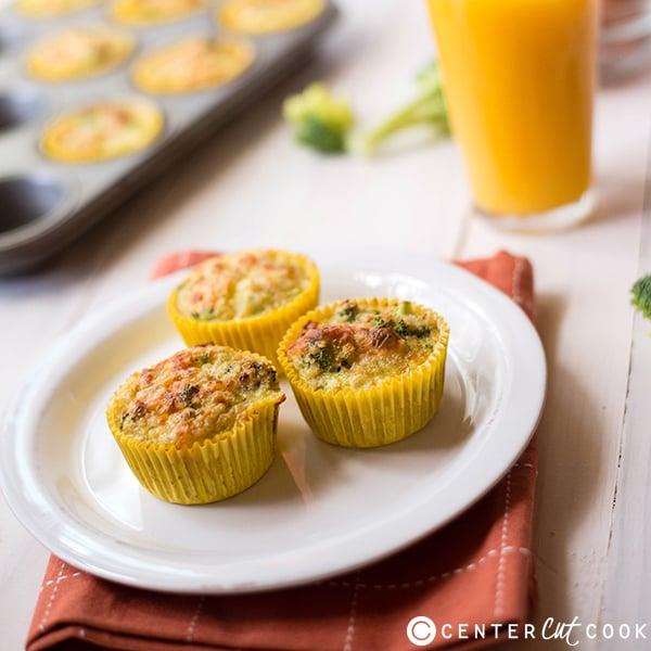 broccoli quinoa egg muffins 4
