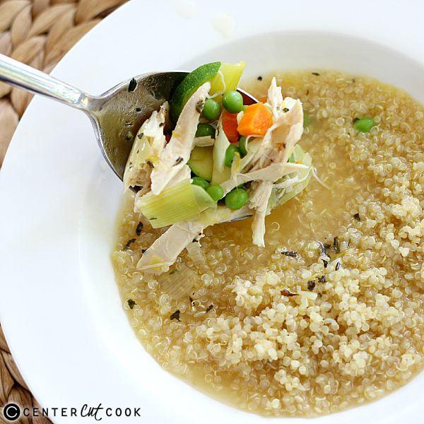 chiken quinoa soup 2