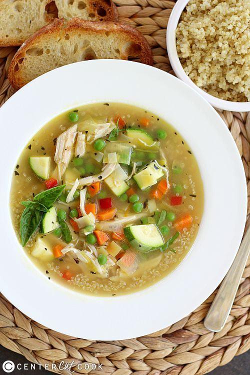 chiken quinoa soup 3