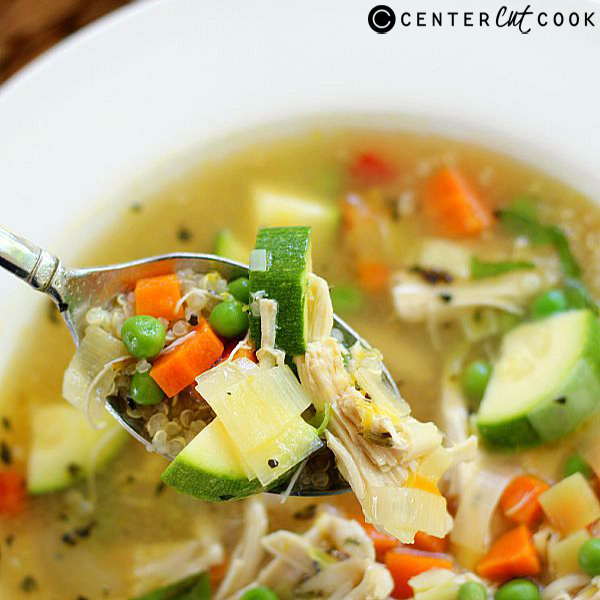 chiken quinoa soup 4