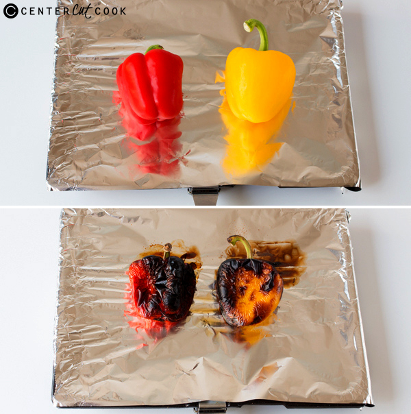 how to roast bell peppers 2