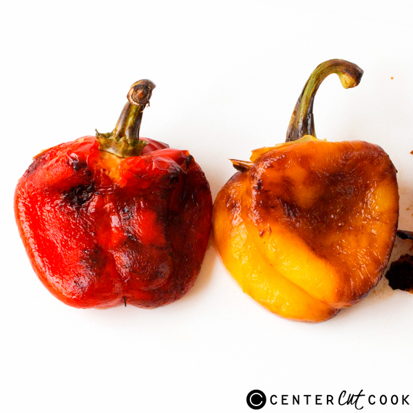 how to roast bell peppers 7