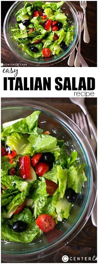 italian salad pin