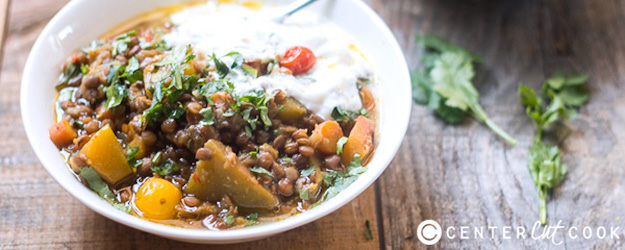 One-Pot Lentil Pumpkin Stew