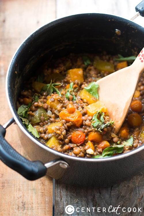 lentil pumpkin stew 2