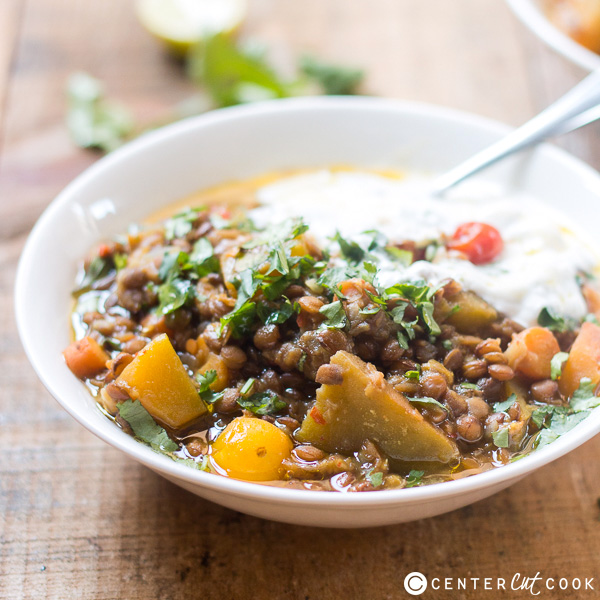lentil pumpkin stew 3