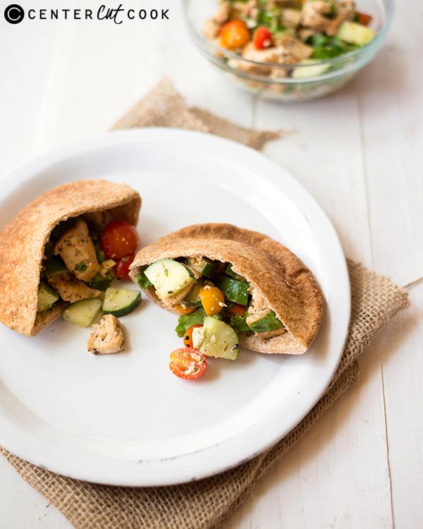 mediterranean chicken pitas 3