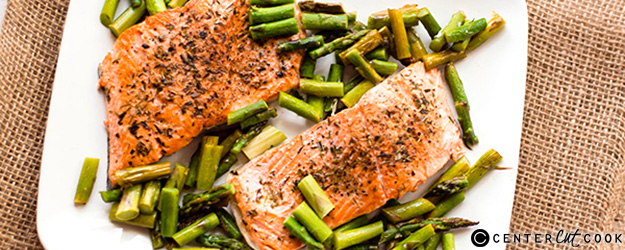 one pan herb roasted salmon 1