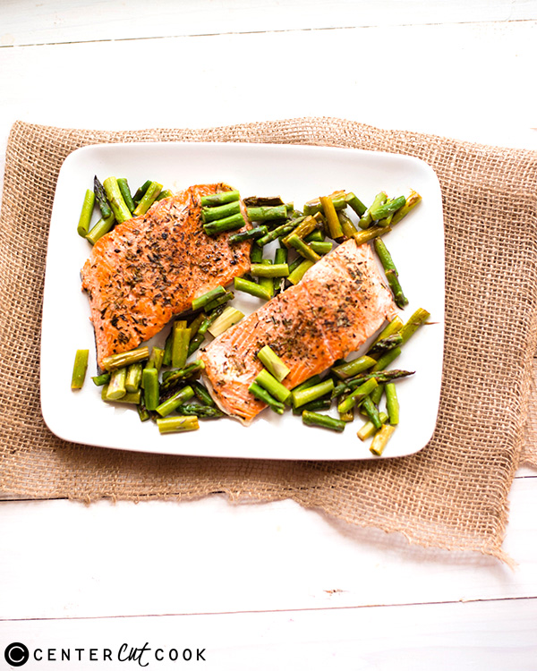 one pan herb roasted salmon 2