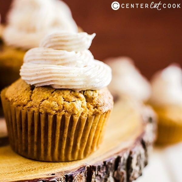 pumpkin spice cupcakes cinnamon frosting 3
