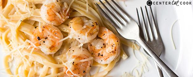 Shrimp Fetuccini Alfredo