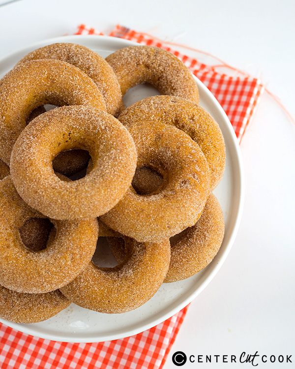 baked pumpkin donuts 3