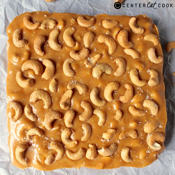 caramel cashew bars 2