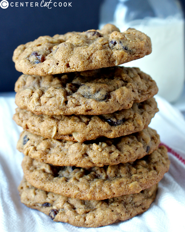 oatmeal raisin cookies 2