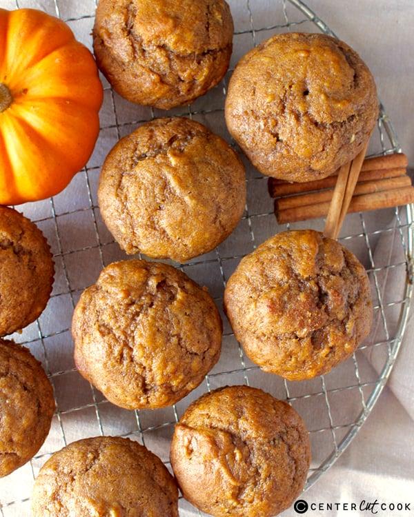 pumpkin banana muffins 3