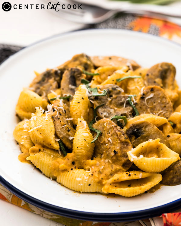 pumpkin pasta with sausage 2