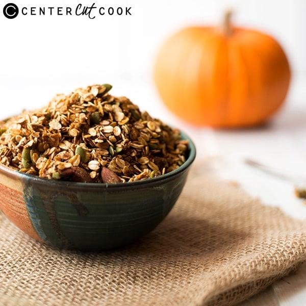 pumpkin spice granola 3
