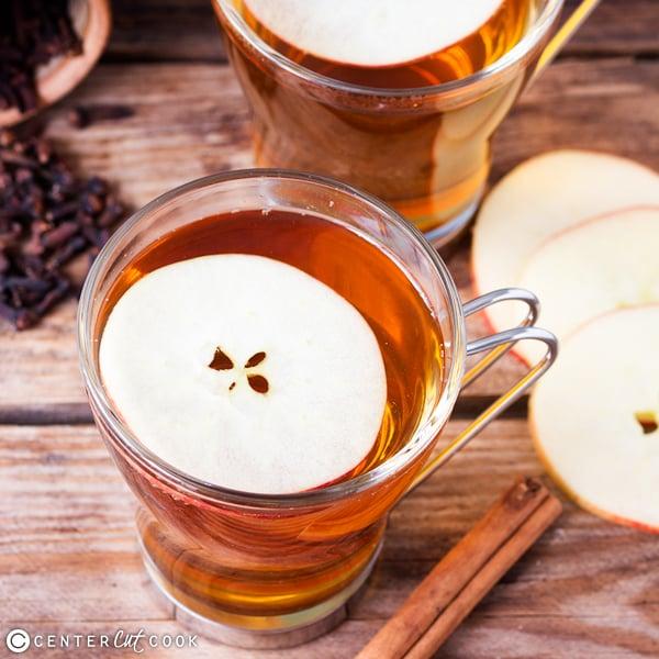 Spiced Apple & Elderflower Warmer
