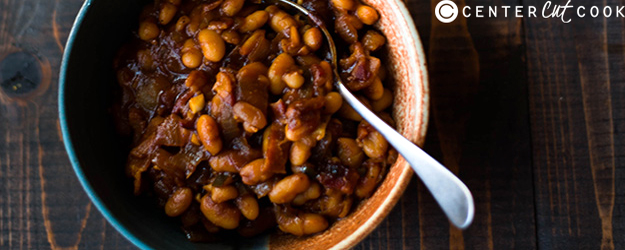 sweet spicy baked beans 1