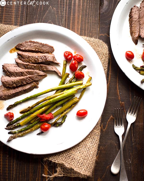 balsamic flank steak 2