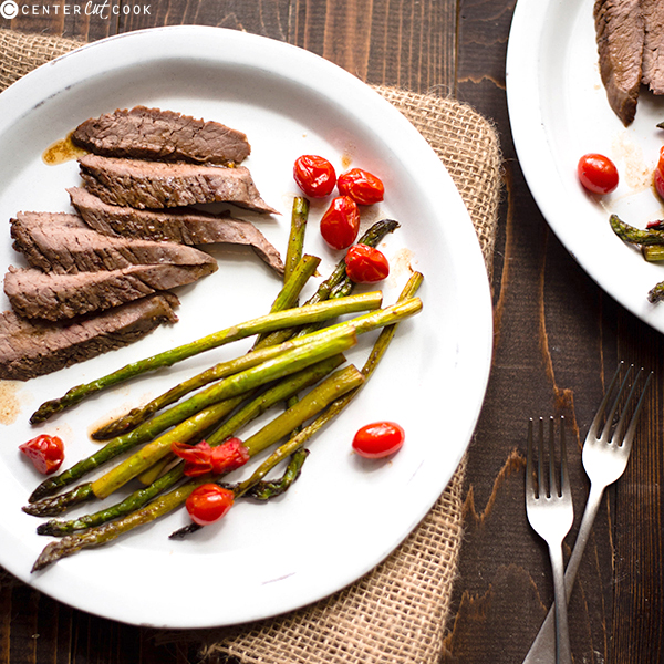 balsamic flank steak 3