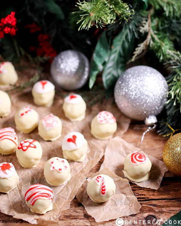 candy cane truffles 4