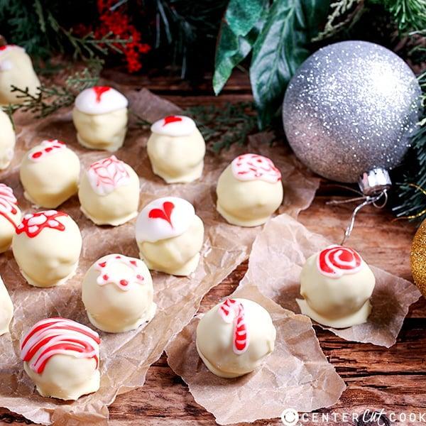 candy cane truffles 5