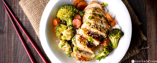 chicken teriyaki bowls 1