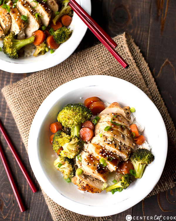 chicken teriyaki bowls 2