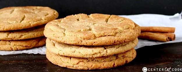 Jumbo Snickerdoodle Cookies