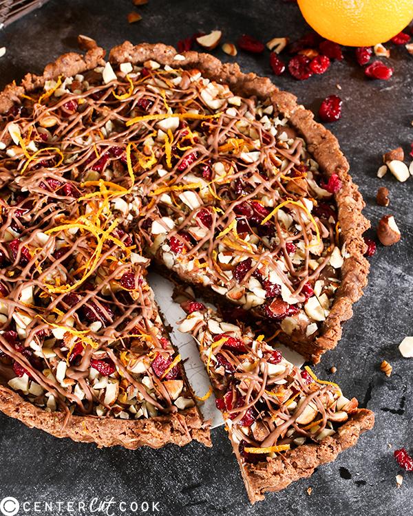 no bake chocolate truffle tart 2