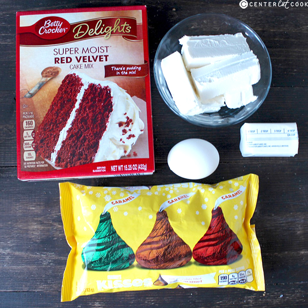 red velvet kiss cookies 3