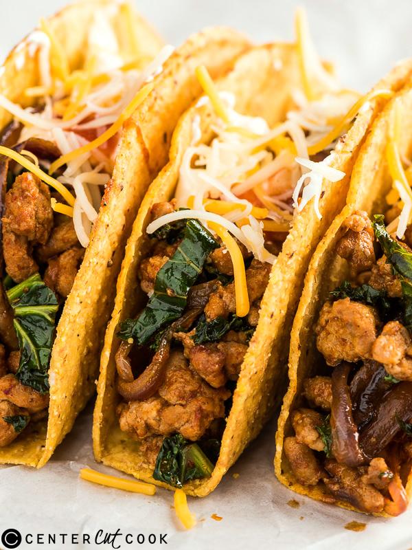 chorizo tacos kale 2