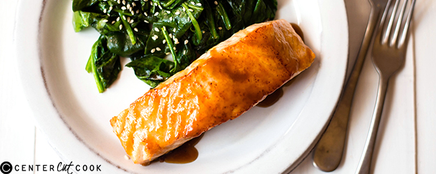 Easy Honey Glazed Salmon