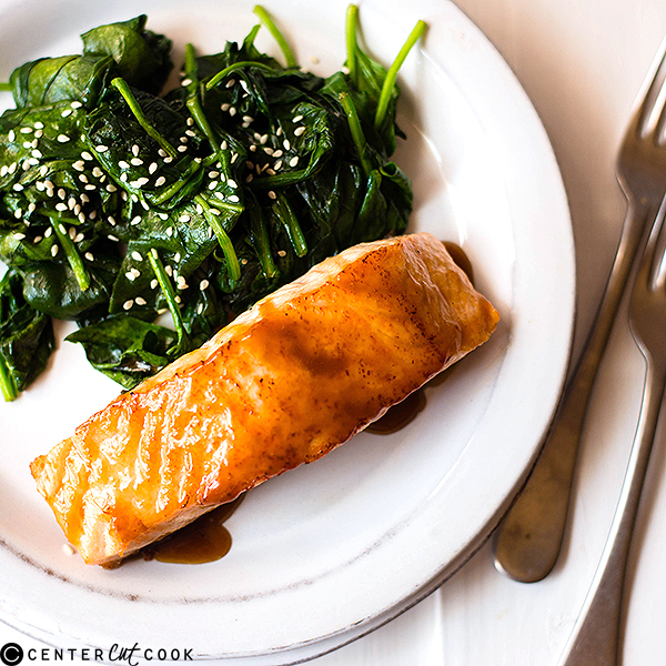 easy honey glazed salmon 3