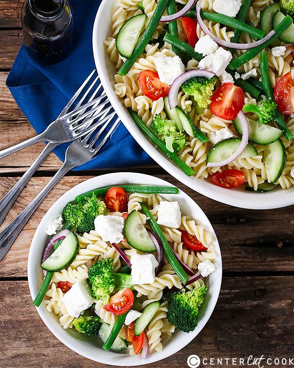 easy veggie pasta salad 3