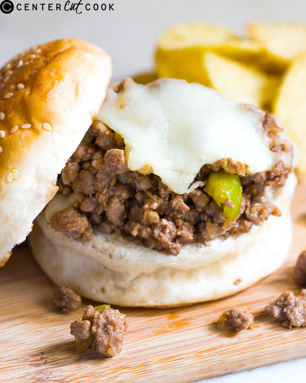 philly cheesesteak sloppy joes 2