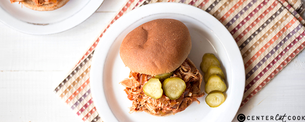slow cooker skinny chicken sloppy joes 1