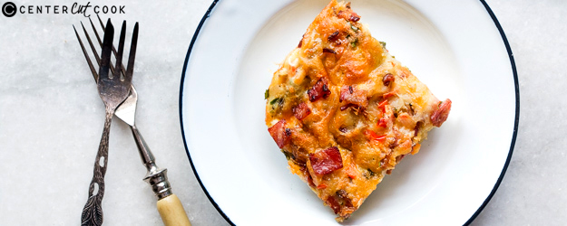 Egg and Bacon Breakfast Casserole