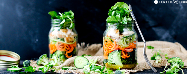 how to make a mason jar salad 1