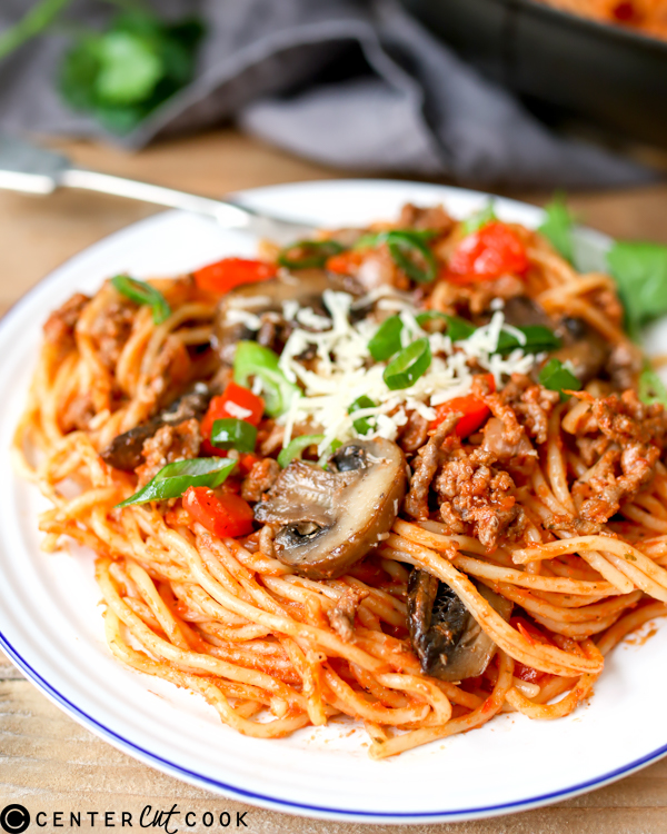 one pot pasta bolognese 2