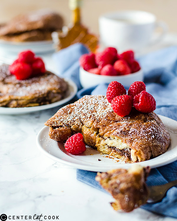 stuffed french toast croissants 2