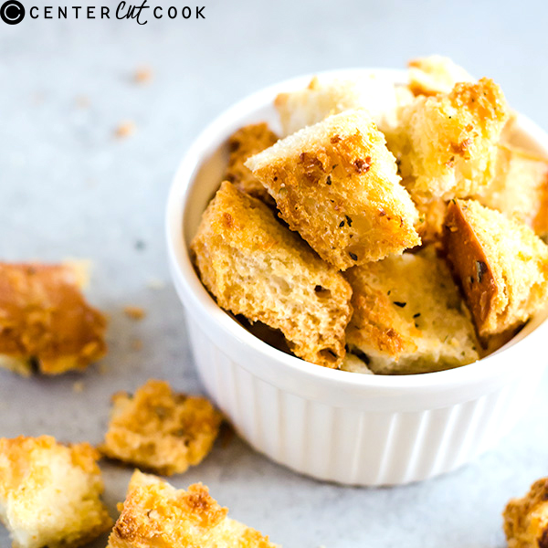 how to make croutons 4