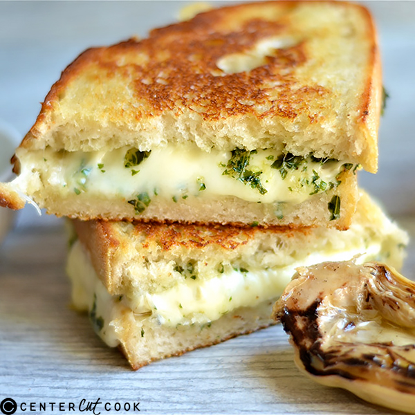 pesto artichoke grilled cheese 3
