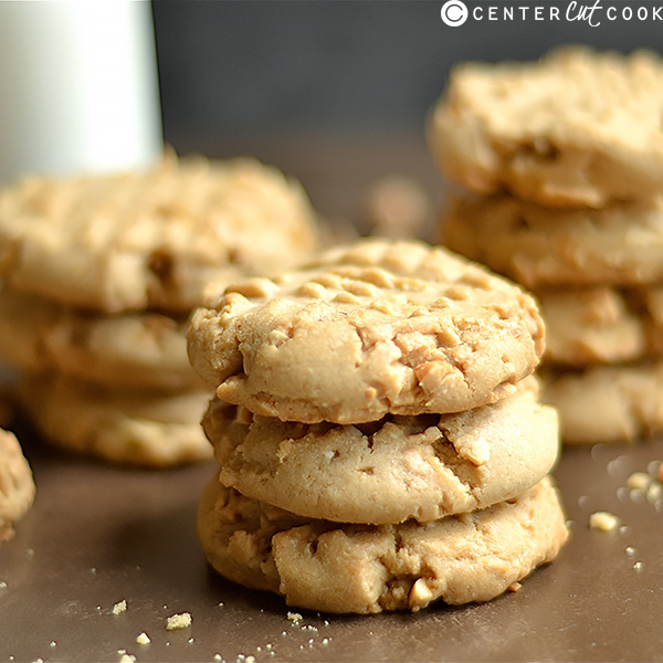 soft chewy classic peanut butter cookies 3