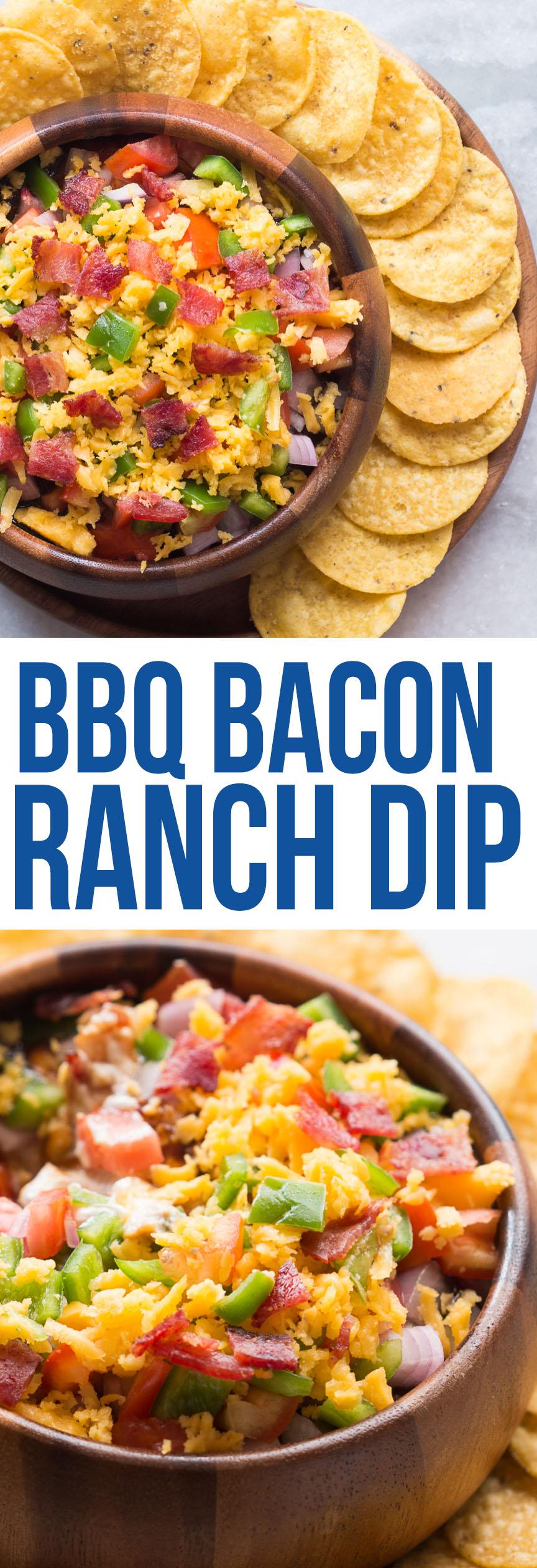 bbq bacon ranch dip pin